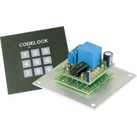 Serrure codée kit à monter Whadda K6400 9 V/DC, 12 V/DC, 9 V/AC, 12 V/AC 1 pc(s)