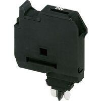 Fiche porte-fusible Contenu: 1 pc(s) Phoenix Contact P-FU 5X20 LED 24 3036819