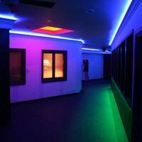 Foco proyector exterior LED 100W 9000LM IP65   Blanco Frío