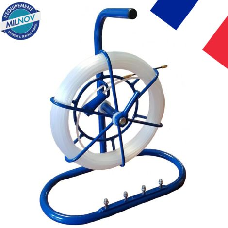 Tire-fil nylon 4 mm L 15 M sur mini dévidoir