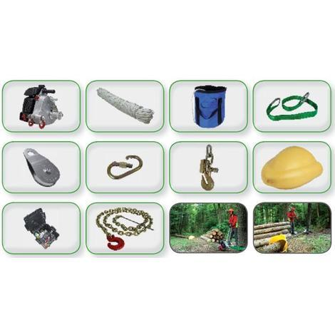 Kit treuil portable Tirage forestier