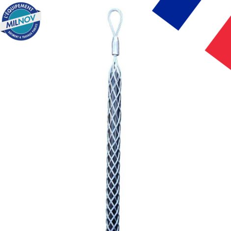 Tire-câble simple boucle de 8 à 100 mm acier galvanisé | 08-15 mm