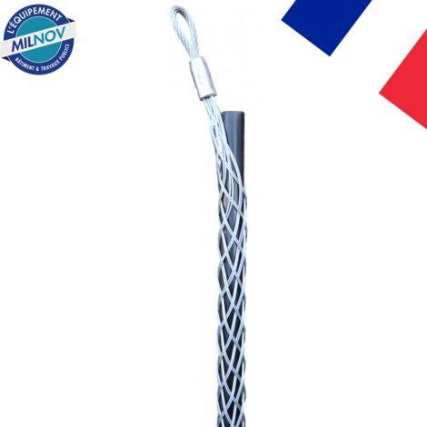 Tire-câble simple boucle déportée de 8 à 100 mm acier galvanisé | 08-15 mm