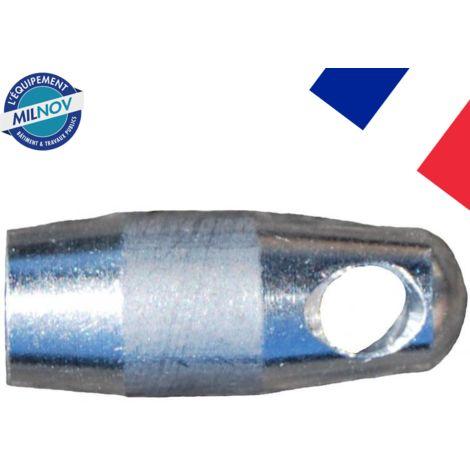 Ogive ALU M5 pour aiguille diam. 4,5 et 6 mm