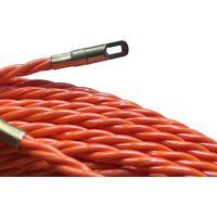 Rechange aiguille en polyester torsadée Ø 4,2 mm L 30 M sans dévidoir + 2 embouts, une tête flexible et un oeillet