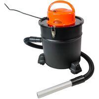 Aspirateur à cendres 1200W 20 litres 2 filtres HEPA