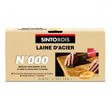 Laine d'acier 150g SINTO - Numéro de grain: N°000