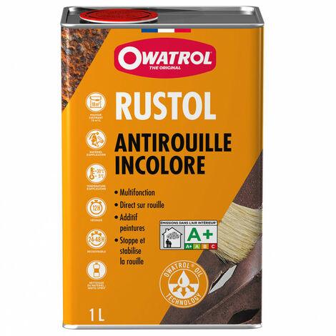 Antirouille incolore 1L RUSTOL-OWATROL