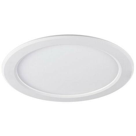 Spot LED 18W encastré Slyflat 1500lm rond 220mm 4000K blanc neutre SYLVANIA