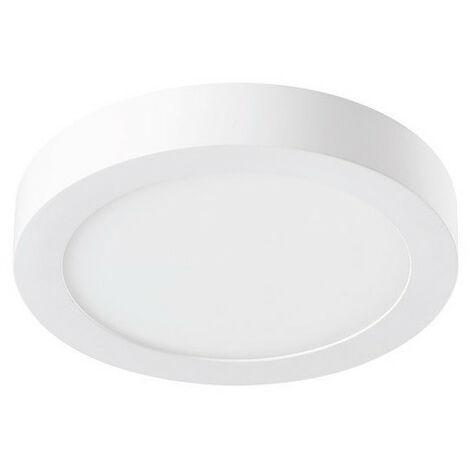 Spot LED 18W saillie Slyflat 1500lm rond 220mm 4000K blanc neutre SYLVANIA