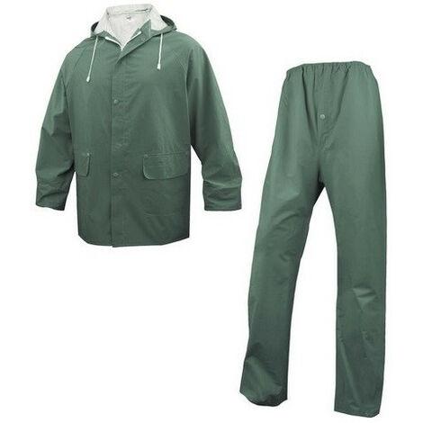 Ensemble de pluie polyester enduit pvc 304 (m) - Taille : M