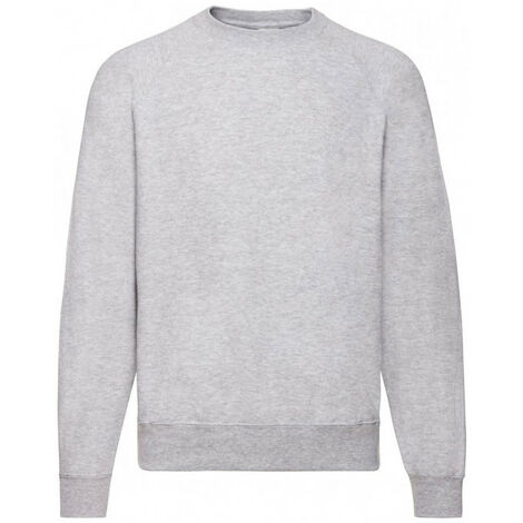 Sweat-shirt gris clair classique 260g FR6