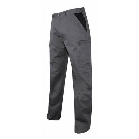 Pantalon multipoche gris/noir Perceuse LMA - Taille pantalon: 40