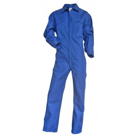 Combinaison 1 zip 100% coton bleu bugatti TALOCHE LMA - Taille: M