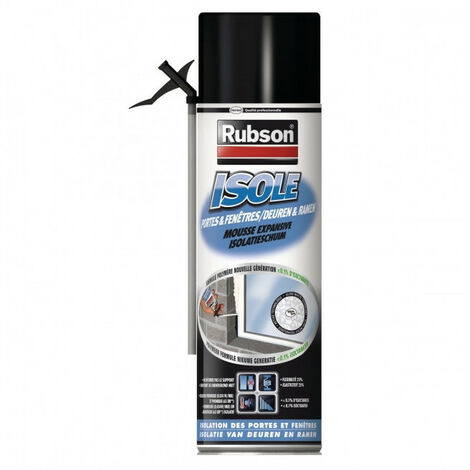 Mousse PU expansive Isole 500ml Rubson
