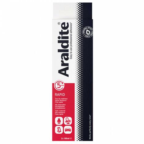 Colle 'rapide' 2x100ml en tube ARALDITE - Quantité: 3 lots de 2 tubes de 100 ml