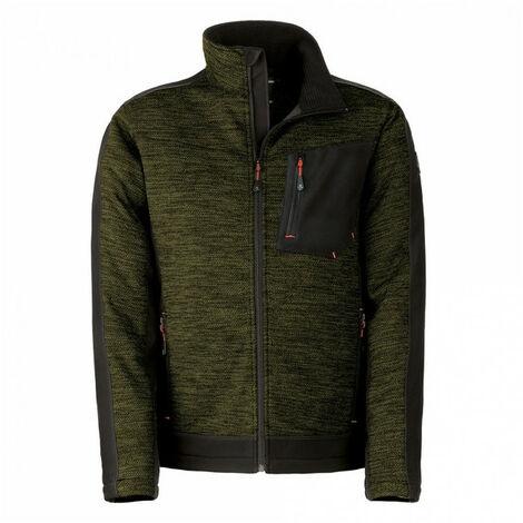 Blouson polaire Vittoria Pro vert KAPRIOL - Taille: XL