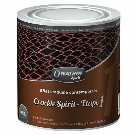 Peinture effet craquelé contemporain Crackle Spirit - Étape 1 - 0,5L OWATROL