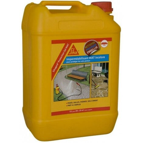 Imperméabilisant Sikagard Protection Sol Mal 5L SIKA