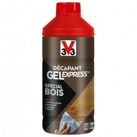 Décapant Gel Express spécial Bois V33 - Cond.: 0.25L