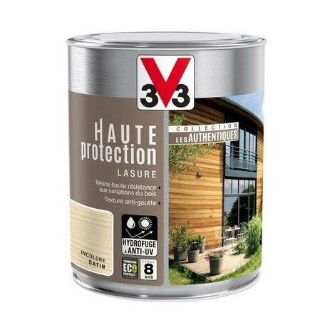 Lasure Haute protection authentique 5L + 20% (chêne clair) - Ton : chêne clair