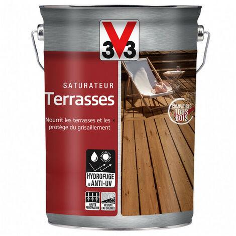 Saturateur Terrasses 5L (teinte au choix) V33 - Ton: Teck