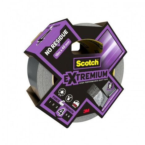 Toile de Réparation Extremium NO RESIDUE 18m x 48mm gris