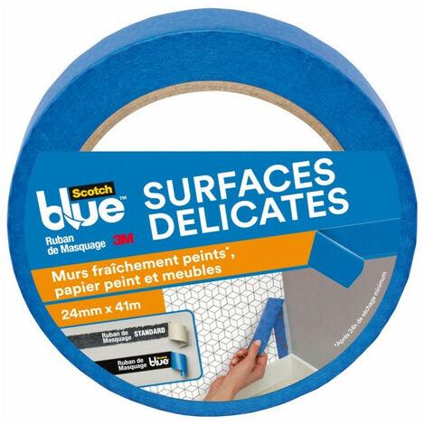 Ruban de Masquage Surfaces Délicates ScotchBlue 41m x 24mm