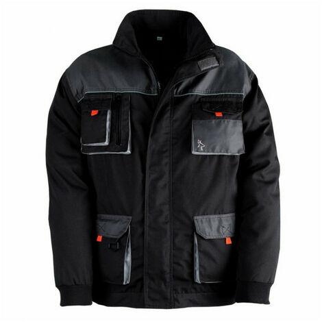 Veste multi poches SMART noir-gris KAPRIOL - Taille: XL