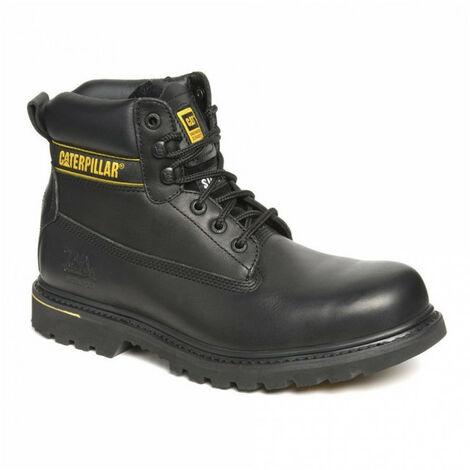 Chaussures de sécurité hautes HOLTON noir CATERPILLAR S3, HRO, SRC - Taille: 46