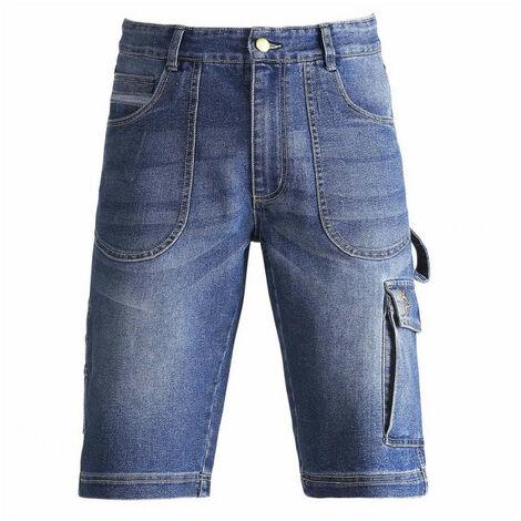 Bermuda jean DENIM bleu KAPRIOL (xl) - Taille : XL