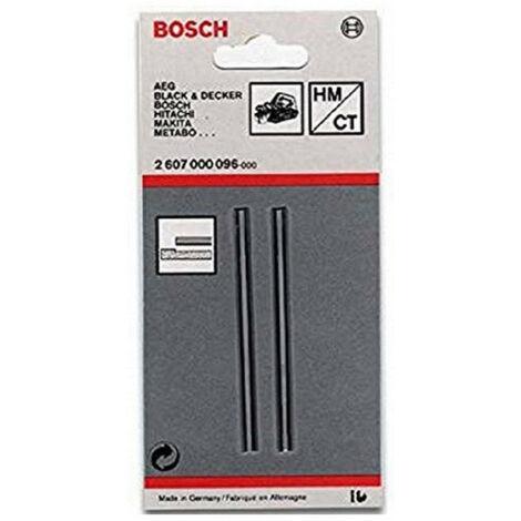 2 fers de rabot 82mm 1525A Bosch-skil