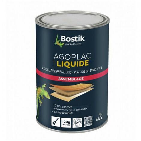 Colle néoprène Agoplac liquide 1L BOSTIK