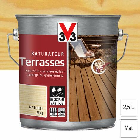 Saturateur Terrasses 2,5L (teinte au choix) V33 - Ton: Naturel