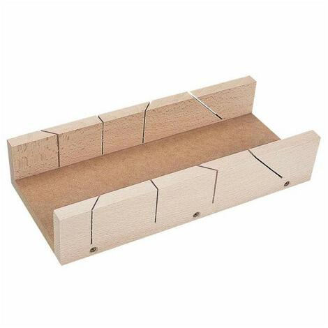 Boîte à onglet pour plinthes bois - Dim LxlxP mm: 350 x 120 x 60