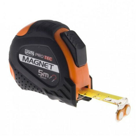 Mesure autobloquante magnétique - Ruban: 3m x 19.00mm