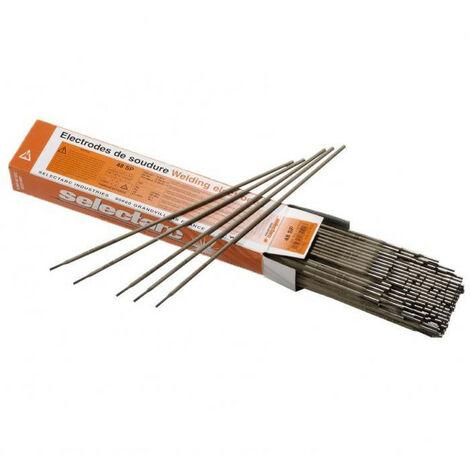 Electrode rutile 48SP SELECTARC (3,20 x 350 - 167) - Dimensions Ø x Long. mm : 3,20 x 350 - Nb par étui : 167