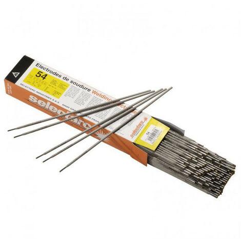 Electrode rutile 54 SELECTARC (3,20 x 350 - 156) - Dimensions Ø x Long. mm : 3,20 x 350 - Nb par étui : 156