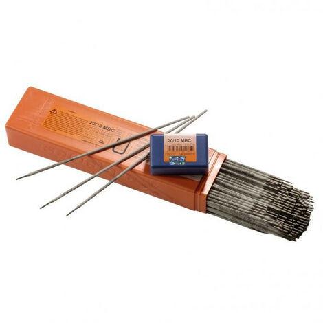 Electrode inoxydable 20/10 MBC SELECTARC (3,20 x 350 - 28) - Dimensions Ø x Long. mm : 3,20 x 350 - Nb par étui : 28