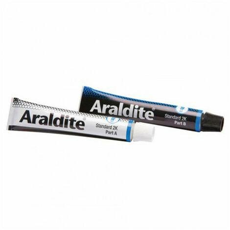 Colle 'standard' 2x15ml en tube ARALDITE - Quantité: 1 lot de 2 tubes de 15 ml