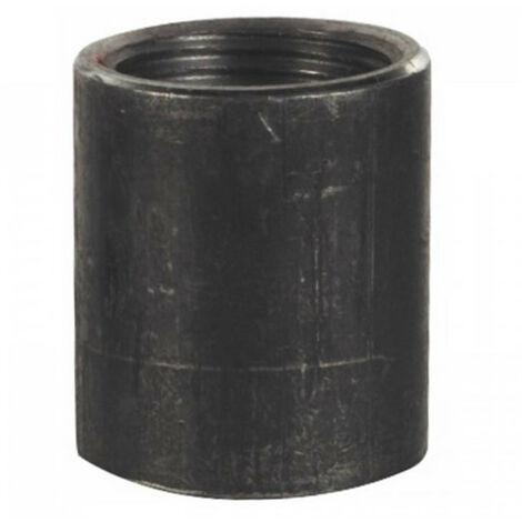 Manchon à souder acier noir F-F - Long. mm: 26 - Dim (en mm): 12 x 17 - Dim (en pouce): 3/8''