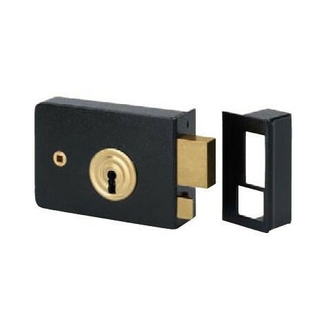 Serrure portail applique horizontale fouillot 925 Metalux - Choisissez vos options: Droite