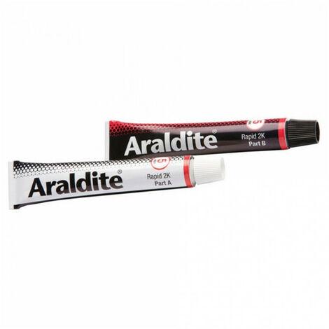 Colle 'rapide' 2x15ml en tube ARALDITE - Quantité: 1 lot de 2 tubes de 15 ml