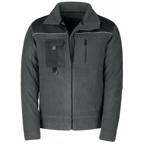Blouson polaire SMART gris/noir Kapriol (xxl) - Taille : XXL