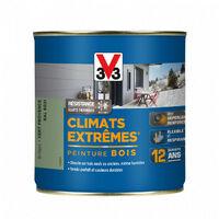 Peinture bois Climat Extrême Brillant 0,5L (teinte au choix) V33 - Ton: Bleu provence