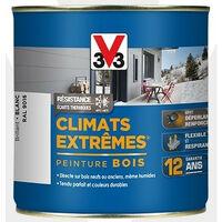Peinture bois brillant climat extrême 2,5L - Ton: Blanc
