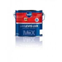 Laque Levis brillante blanche intérieur extérieur 1L LAK LEVIS LUX tous supports (bois, PVC, métal, anciennes couches, ...)