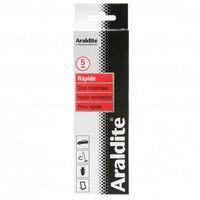 Colle 'rapide' 2x100ml en tube ARALDITE - Quantité: 1 lot de 2 tubes de 100 ml