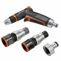 Pack Pompe d'arrosage 3000/4 + Tuyau Ø19mm 20m + Kit aspiration laiton + Kit base Premium + Arroseur 350m² GARDENA