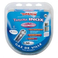 Flexible Inox Garantie A Vie Gaz Naturel 200ml Kkpappn